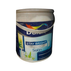 Dulux water base Satin finish Enamel, Packaging Type: Bucket, Packaging Size: 4 L and 20 ltr