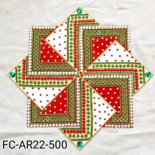 Acrylic Swastik Rangoli (FC-AR22-500)