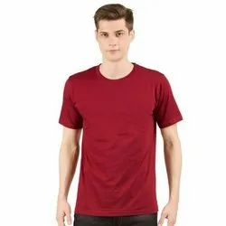Round Neck Cotton T Shirts for Men