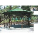 Cast Iron Gazebo - Dia. 12 Feet Hexagonal