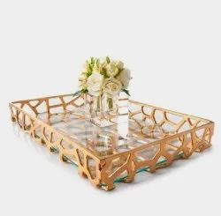 Aluminium Glass Tray