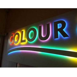 Rectangle Designer Acrylic Sign Board, 1-10 Mm
