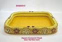 Square Kundan Work Chaab Basket