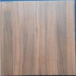 Brown Ceramic Wooden Textured Vitrified Tile, Thickness: 10-15 mm