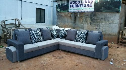 Corner Sofa Set Latest Design With 3 Years Warranty Fabric