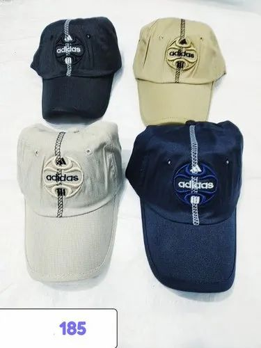 8dcee9521b Stylish Embroidery Baseball Caps and Hats 185 at Rs 60  piece ...