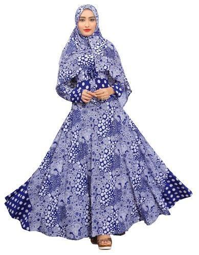 e79fed48d531 Dubai Umbrella Style Printed Abaya Burkha Designs at Rs 1375 /piece ...