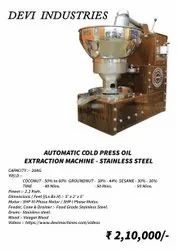 Wood Pressed Oil Machine