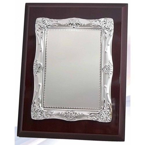Silver Plated Wave (wooden Box) Frames & Plaques Trophy at Rs 1910 ...