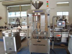 Tablet Counting And Filling Machine For Bottles