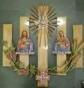 Wooden and Fiber House Altar