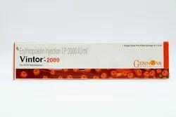 VINTOR 2000IU PFS Inj Erythropoietin