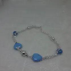 Silver Fancy Baby Bracelets