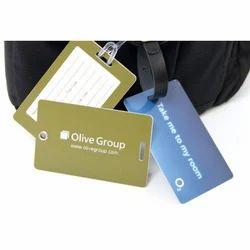 Plastic Card Luggage Tag