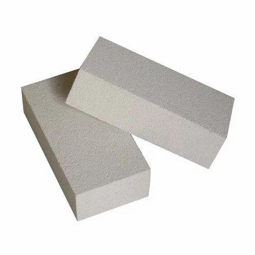 Alumina Grey HFK Insulating Brick, Size: 9 x 4  x 3 inch