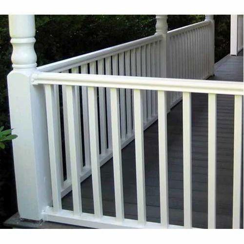 White Stainless Steel Railing