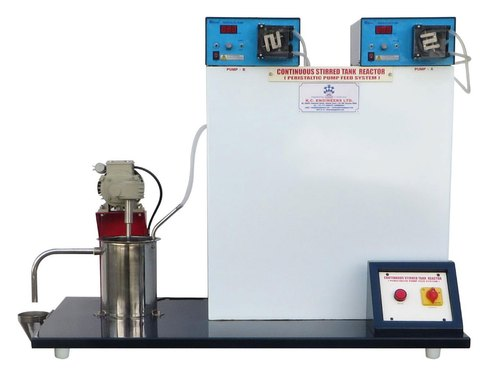 Continuous Stirred Tank Reactor (Compressed Air Feed System)