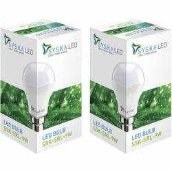 SRL 9 W Syska LED Bulb