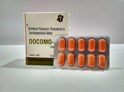 Diclofenac Paracetamol Serratiopeptidase Tablets