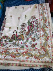 Semi Silk Hand Work Saree