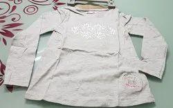 Light Grey Girls T Shirt
