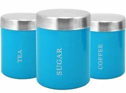 蓝色不锈钢容器,容量:每用电脑1000毫升,尺寸:圆柱形