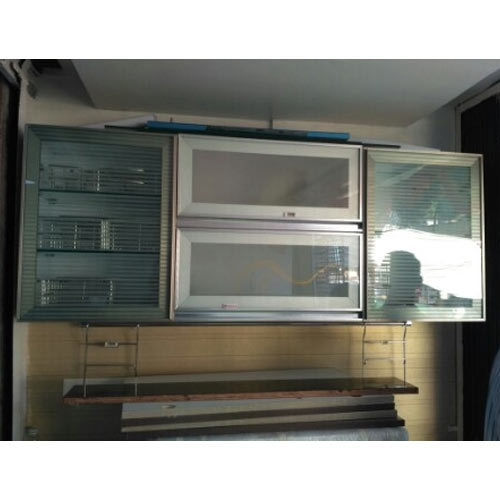 Aluminium Modular Kitchen At Rs 1100 Square Feet: Profile Kitchen Shutters At Rs 300 /square Feet