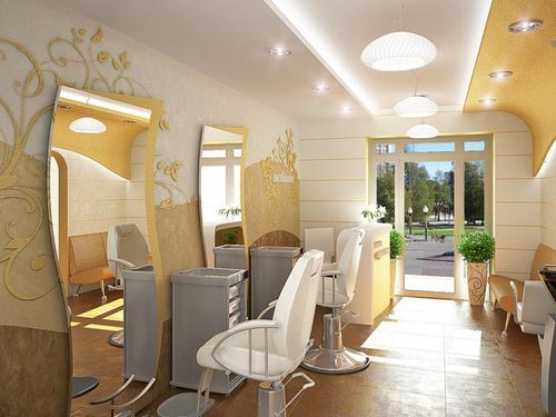 Beauty Parlor Interior Commercial Interior Designing In Krishna Best Parlor Interior Design Property