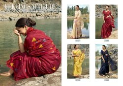 Triveni Sankranti Latest Designer Saree Linen Saree