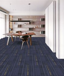 Blue Carpet Flooring