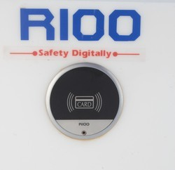 RIOO Cabinet Lock, Black Finish