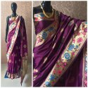 Banarasi Silk Wedding Wear Saree