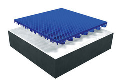 APPROVED Gloss Basketball PP Modular Tiles Flooring, Pan India, Area: Outdoor