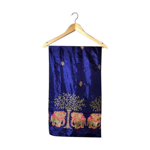 3351412691 Paper Silk Embroidered Saree, Packaging: Plastic Bag, Rs 630 /piece ...