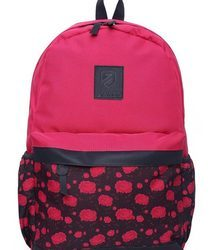 Floral Printed Free Size Backpack