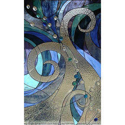 Multicolor Toughened Stained Glass