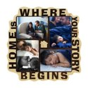 Plastic Wf 4n Family Collage Frame, Size: 11x11 Inches