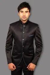 2-Piece Suit Wedding Singh Brand Jodhpuri Black Coat