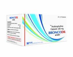 Acebrophylline Capsules 100 mg
