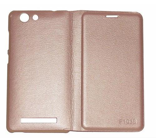 buy online 97de0 923e4 Lfcgiof103progld Flip Cover For Gionee F103 Pro (beige)