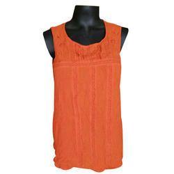 Orange Surplus Ladies Top