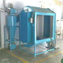 Bsjs Stainless Steel Powder Coating Process Booth