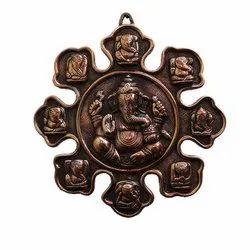 Nine Rupe Ganesh Statue