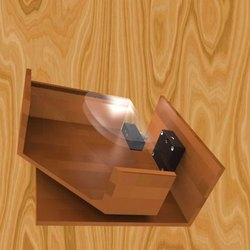 Aluminium Cabinets Sliding Door Invisible Hidden Lock