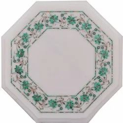 Mother of Pearl Mosaic Marble Coffee Table Top