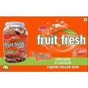 Kamco Orange Flavour Liquid Filled Gum, Packaging Type: Plastic Jar