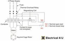 Own Ac DOL Starter, Voltage: 220V