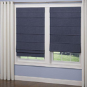 Pvc Roman Window Blinds, Size: Upto 12 Feet