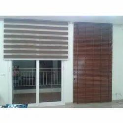 PVC Plain Window Blinds