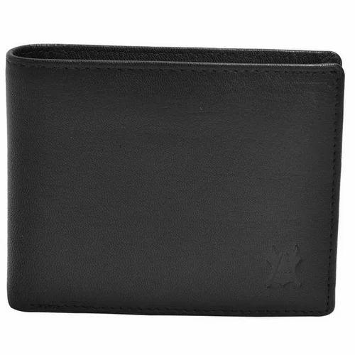 Hidecart Men''s Black Leather Wallet